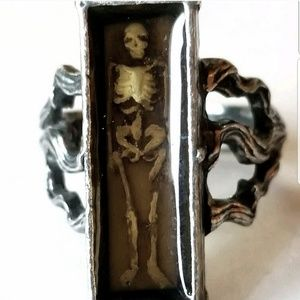 """RARE Alchemy Gothic """"Pauper's Grave"""" Ring"""